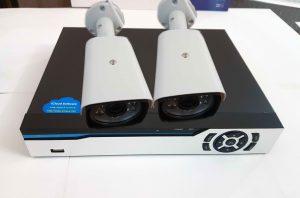 پک دو کاناله دوربین مداربسته ارزان