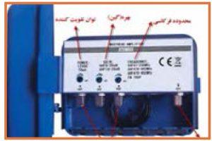 آنتن مرکزی_مشخصات فنی یک بوستر یا تقویت کننده