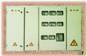 تابلو برق ساختمان یا تابلو کنتورها